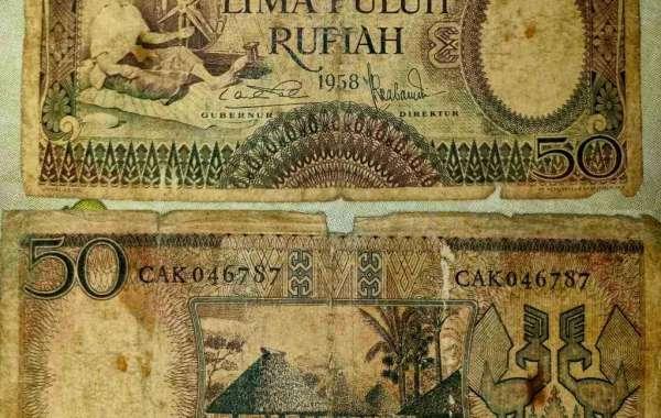 Kenalin Uang Kertas 50 Rupiah Tahun 1958, Ini Pemiliknya !