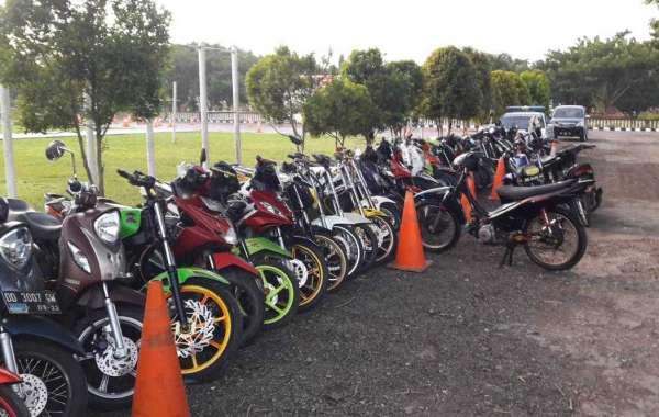 Gencar.! Hari ke 4 Ramadhan, Polres Jeneponto Amankan 49 Motor dari Balapan Liar