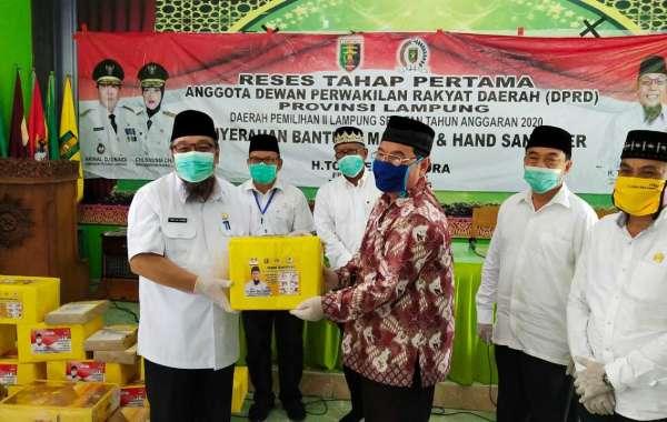 Tony Eka Candra Ajak Ormas Islam Lampung Selatan Lawan Covid-19