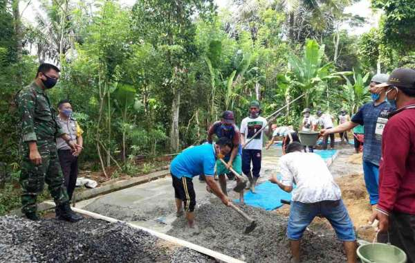 Trail Kegiatan Pembangunan Dana Desa Tahap Pertama Tahun Anggaran 2020, Desa Pekurun Udik