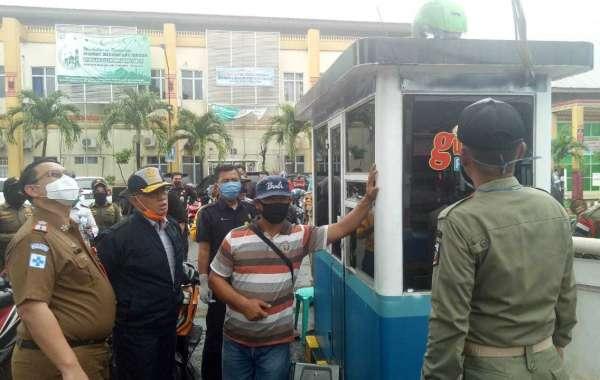 Segel Loket Parkir RSUD Mayjend Ryacudu, Ini Penjelasan Kadishub Lampung Utara