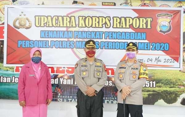 Beri Pesan, Kapolres Maros AKBP Musa Tampubolon Minta Calon Siswa Anggota Polri Hindari Berkumpul