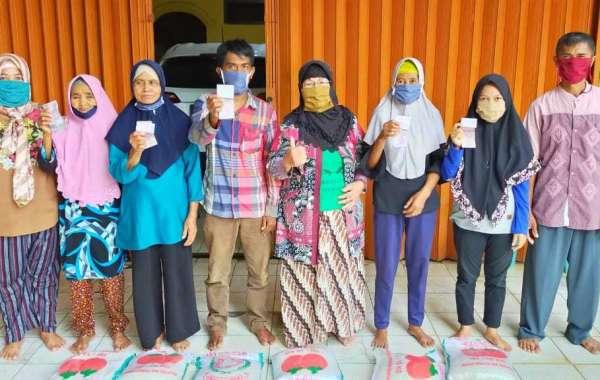Anggota DPRD Lampung Utara Hj. Dewi Murni Silaturahmi ke Ponpes Al,Inabah Membawa Pesan Putus Mata Rantai Covid-19