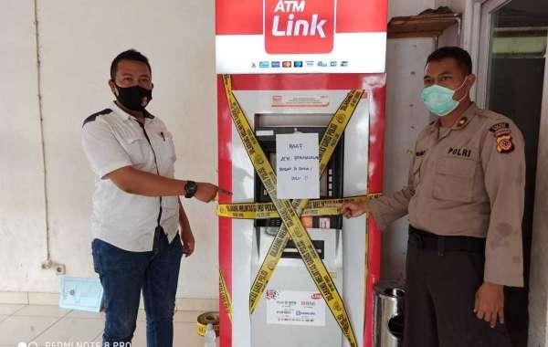 Polres Bogor Tangkap Tangan Pelaku Ganjal ATM