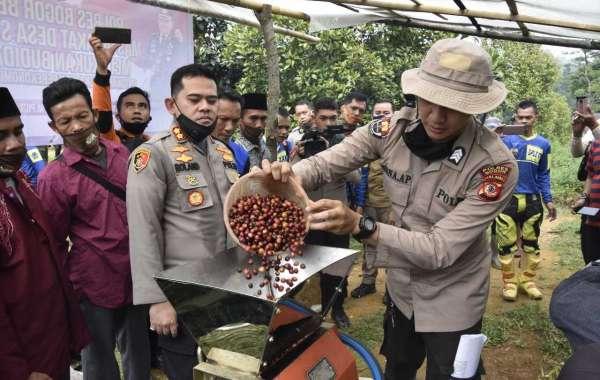 Kapolres Bogor Cek Ketahanan Pangan Hingga Pelosok Desa