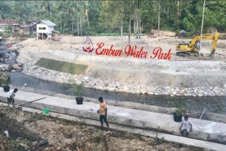 Wisata Keluarga 'Embun Water Park' Hadir di Pasaman - INDONESIA SATU
