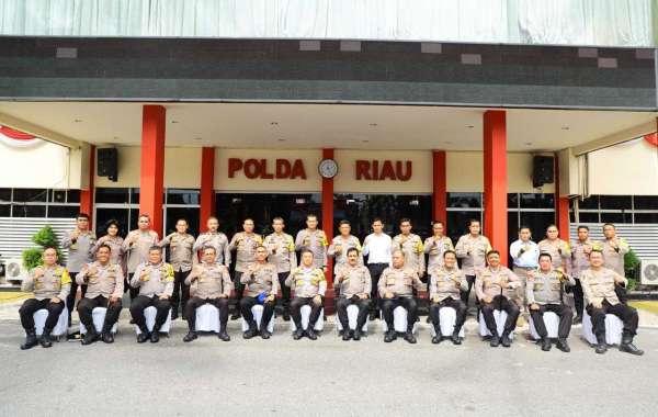 Beri Motivasi Jajaran Polda Riau,Kabaharkam Polri Bandingkan Luas Wilayah Riau Dengan Vietnam