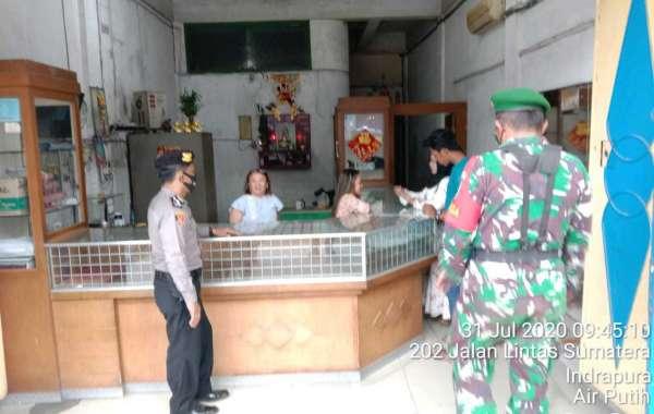 Antisipasi Kejahatan Kriminal Di Jalinsum, Kasat Sabhara Lakukan Patroli Bersama TNI