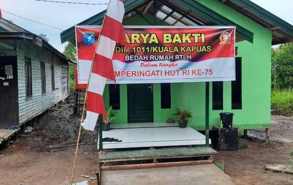 Terima Bantuan Kasad,Lima RTLH Warga Dibedah Kodam XII/Tpr