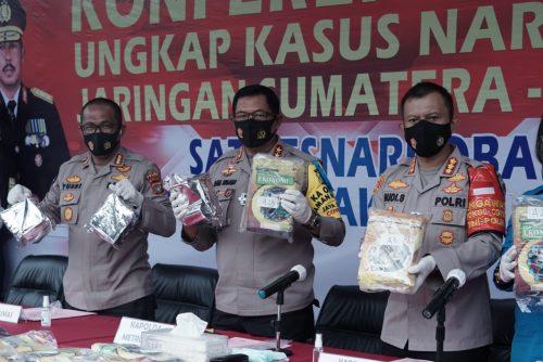 Polres Metro Jakarta Selatan Gagalkan Peredaran Narkoba Seberat 160 Kilogram Ganja dan 131 Kilogram Sabu - Terdepan.co.id