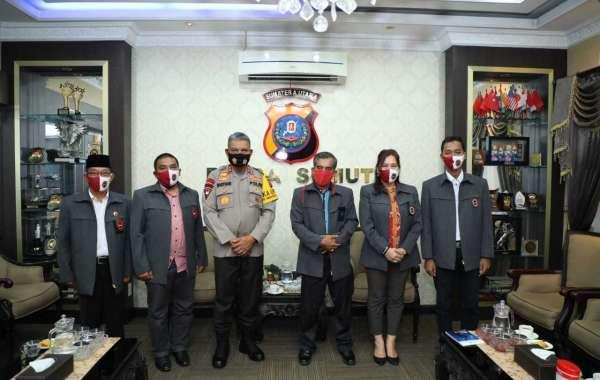 Kapolda Sumut Audensi Dengan Forum Koordinasi Pencegahan Terorisme (FKPT) Sumut