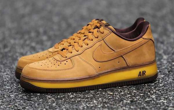 """Latest Nike Air Force 1 CO.JP """"Wheat"""" DC7504-700 to release on October 8th 2020"""