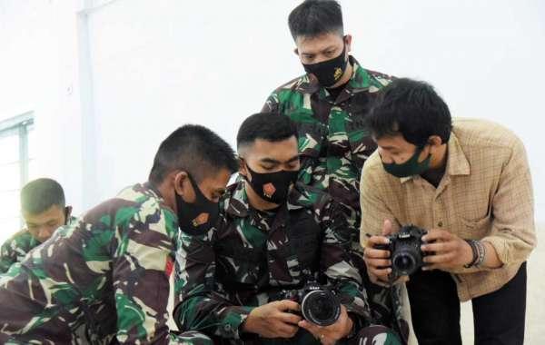 Tingkatkan Kemampuan Jurnalistik, Kodam Hasanuddin Gelar Pelatihan Fotografi dan Videografi