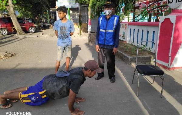 Mantapkan Kampung Sehat, Relawan Forum Kadus Desa Ikut Edukasi Masyarakat Operasi Non Yustisi Imbangan