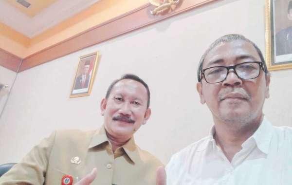 Nganjuk,Kabupaten Pertama Di Jatim Launching Perpustakaan Pers