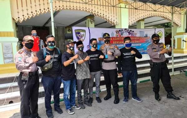 Libatkan Pemuda Dan Relawan Masjid Cegah Covid,Kabaharkam Polri:Terus Galakkan Gerakan Pakai Masker