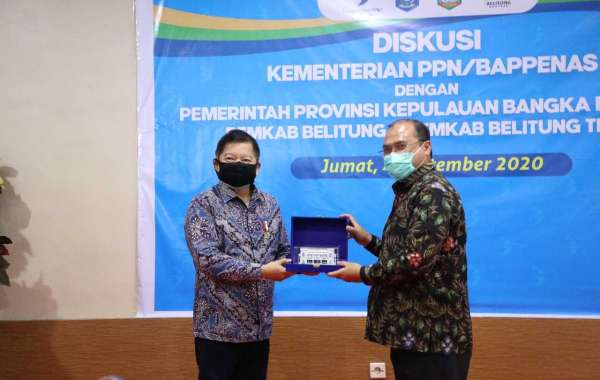 Kunjungan Kerja Menteri PPN Ke Geopark Dan Geosite Di Kepulauan Bangka Belitung