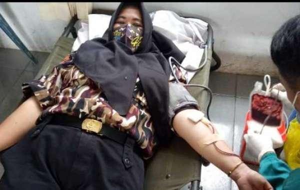 Ningsih Dewi Marini Walaupun Berada di Masa Pandemi, Tak Halangi Niat Ikuti Aksi Sosial Donor Darah