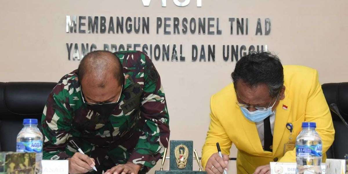 TNI AD Kerjasama Dengan UI Pelaksanaan Pelatihan Kehumasan