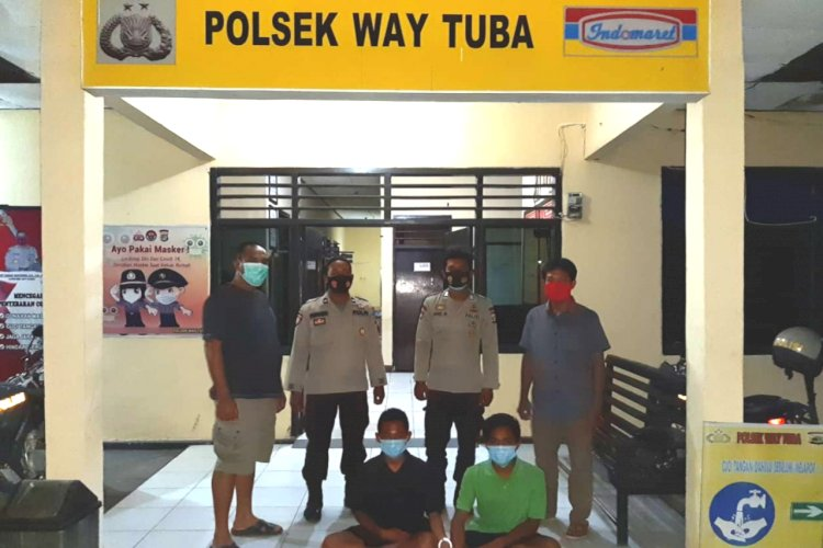 Bawa Kabur Motor, dua pemuda asal Kampung Bukit Gemuruh Kecamatan Way Tuba Kabupaten Way Kanan