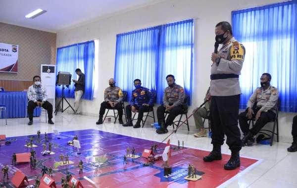 Kapolres KSB Arahkan dan Berikan Motivasi Anggota Guna Antisipasi Kontijensi Pelaksanaan Pilkada