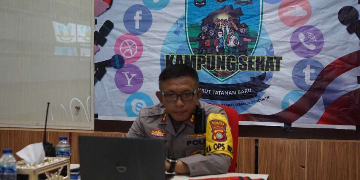 Kapolres Paparkan Peran Kampung Sehat Tekan Penyebaran Covid-19 di Kabupaten Sumbawa