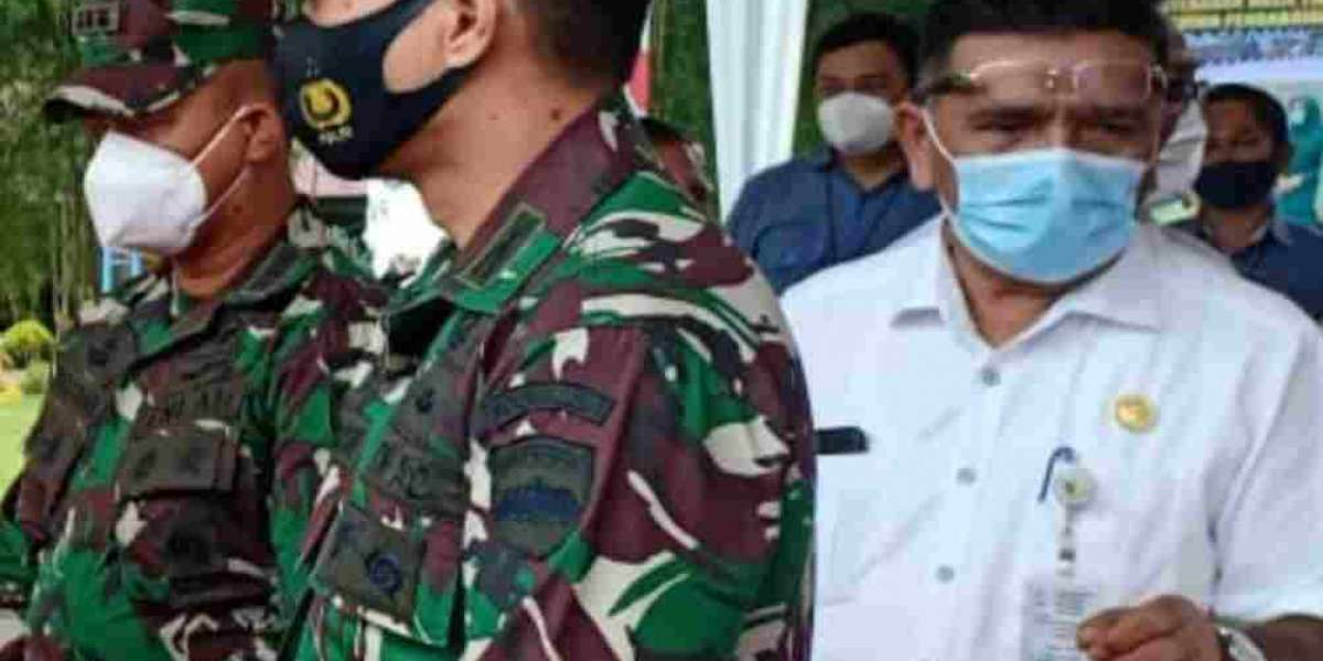 Kehormatan Bagi Personil Satgas TMMD ke 109 Kodim 0208/Asahan Ditutup Langsung Oleh Pangdam I/BB