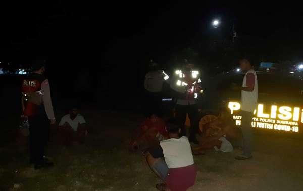 Asyik Konsumsi Miras, Sekelompok Remaja Diamankan Unit Patroli Sabhara Polres Sumbawa