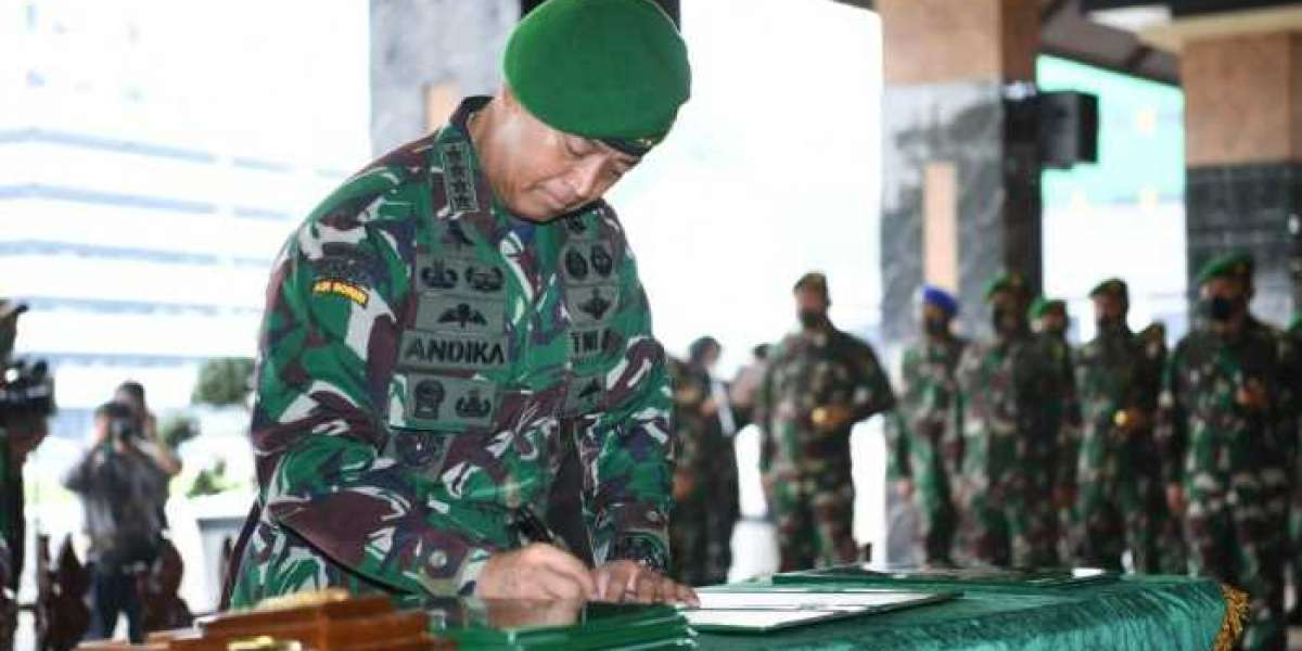 Kasad Rotasi Pimpinan Jabatan Penting Sekaligus Terima Laporan Kenaikan Pangkat Perwira Tinggi TNI AD