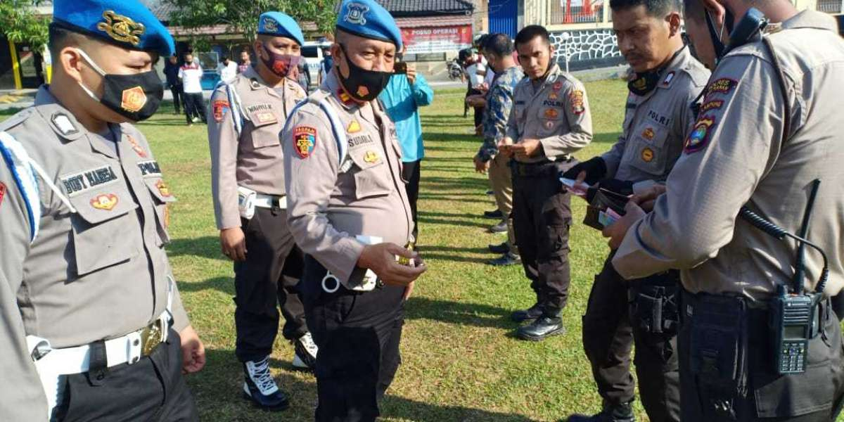 Bid Propam Polda Lampung Laksanakan Gaktiblin di Polres Way Kanan