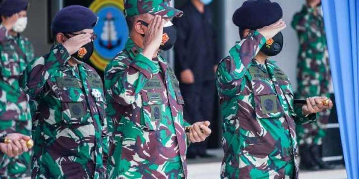 Pangdam Hasanuddin Hadiri Peresmian Satlinlamil III