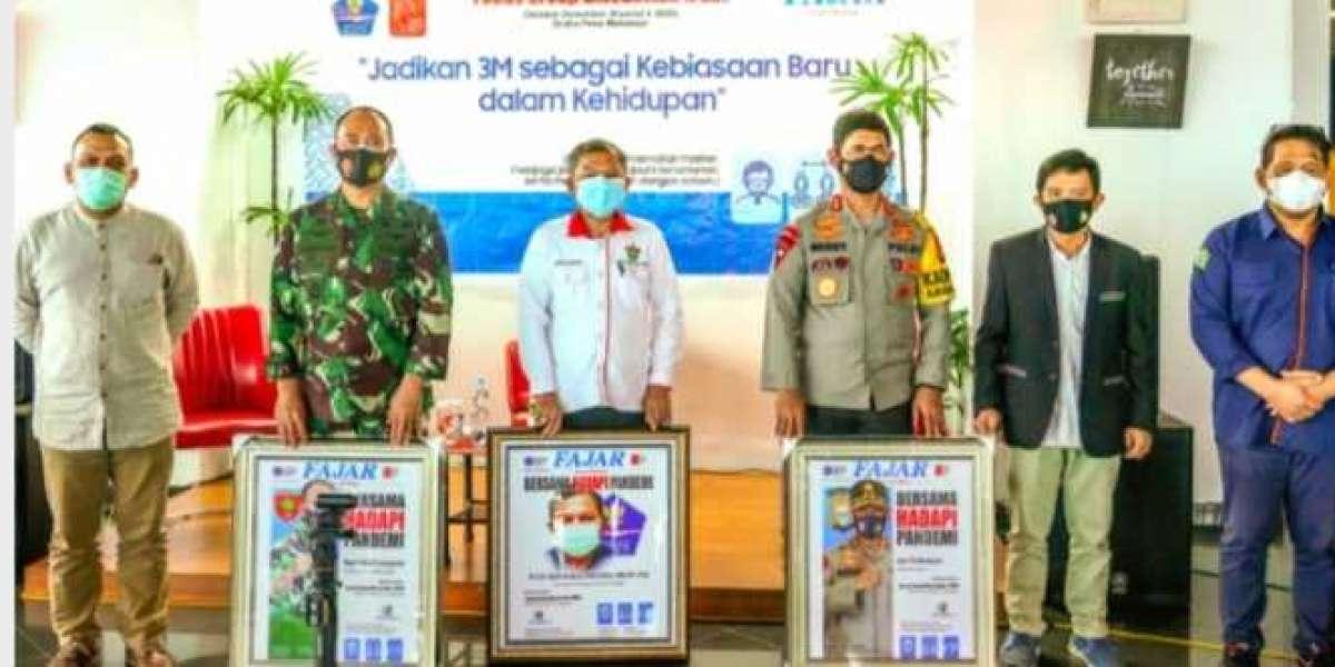 Jadi Narasumber FGD di Harian Fajar Pangdam Hasanuddin Bahas Bersama Hadapi Pandemi