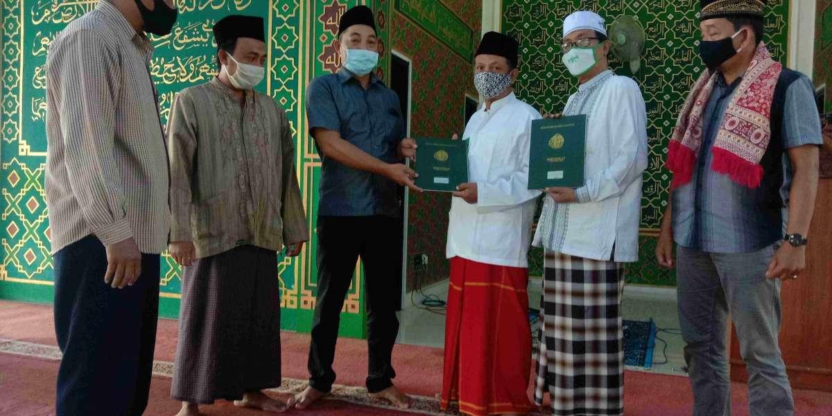 Stop Talking Start Acting, LWP-NU Nganjuk Terbitkan 18 Sertifikat Kantor MWC-NU, Masjid dan Musholla