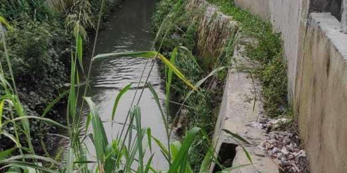 Camat Medan Sunggal Melempem,Bibir Sungai di Bangun Tembok