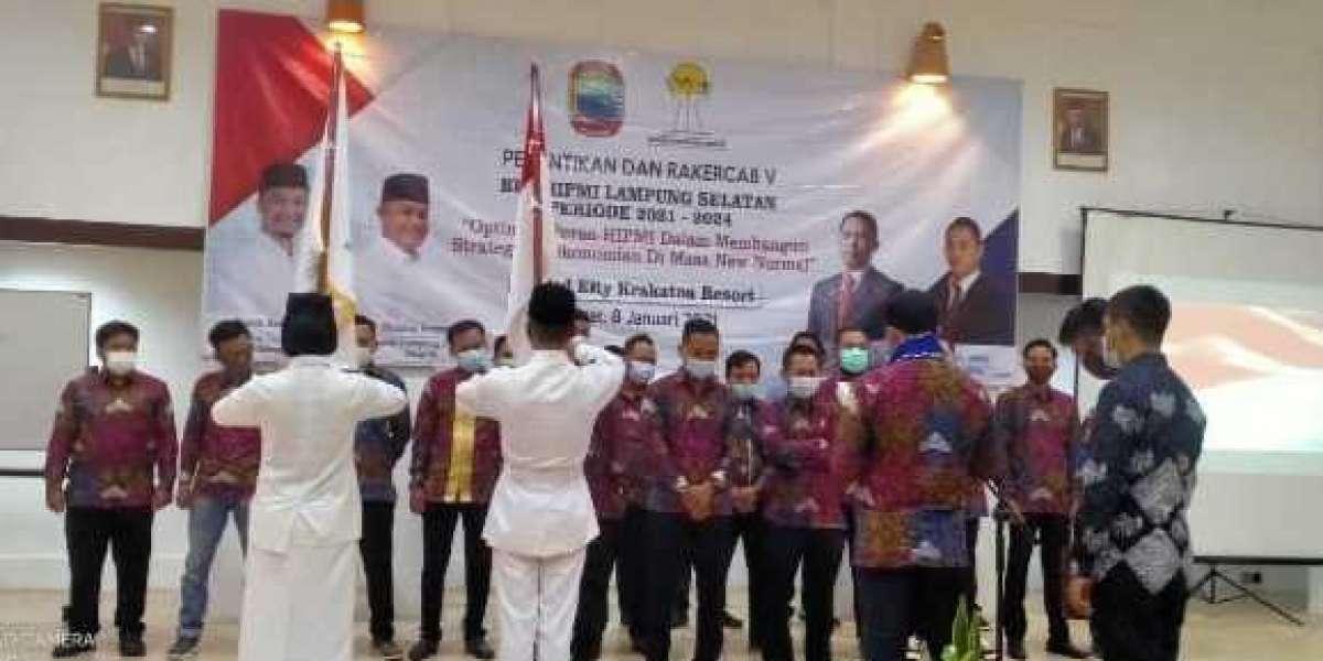 Pelantikan BPC HIPMI Kabupaten Lampung Selatan Tahun 2021 Terlaksana Secara Meriah