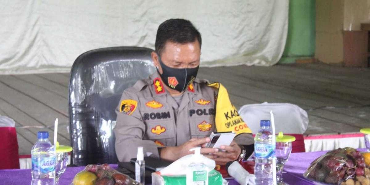 Anev GKTM Minggu Ke III Polres Sergai Meeting Zoom & Rapat Penanganan Konflik Perkebunan SRA dan masyarakat