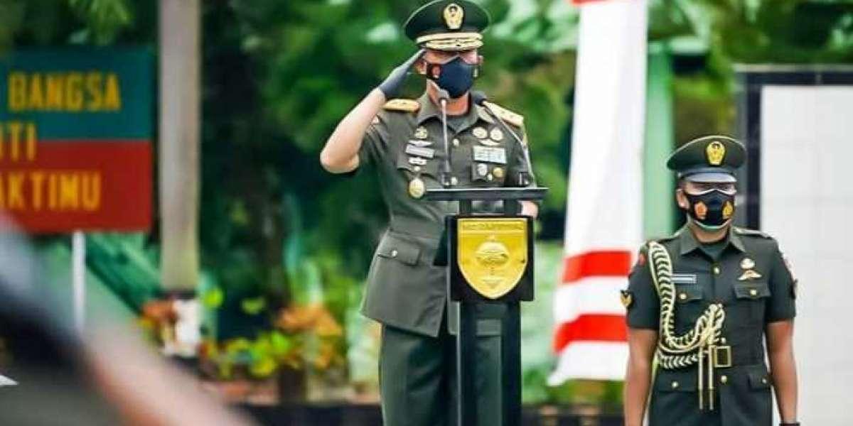 Pangdam Hasanuddin Resmi Tutup Dikmaba TNI AD TA. 2020