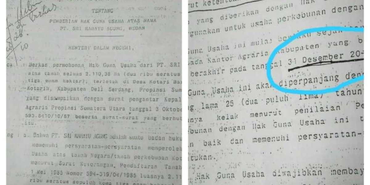 PT Sri Rahayu Agung Berdiri Di Atas HGU Yang Sudah Berakhir Sejak Desember 2013