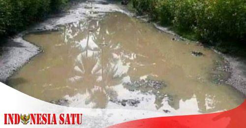 Jalan Kabupaten Tanjungsari-Langkapsari  Rusak, 20 Tahun Tak Di Perbaiki - NKRI Harga Mati