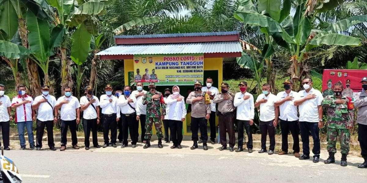 Dukung Program Kapolri, 18 Desa Se Kecamatan Bintang Bayu Diresmikan Sebagai Desa Tangguh