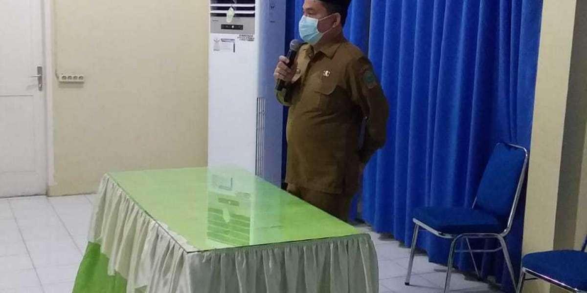 Serah Terima Jabatan Direktur RSU Haji Medan Dari Plh dr Hartati M.kes kepada Plt dr Rehulina Ginting M.kes
