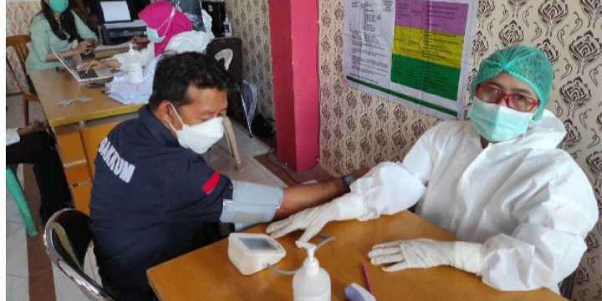 Tekan Penularan Covid-19, Balai Gakkum KLHK Sulawesi Seksi II Palu Laksanakan Vaksin