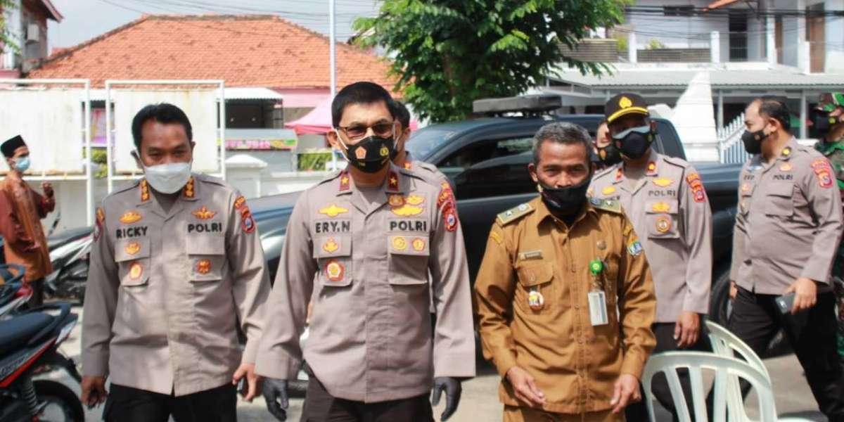 Wakapolda Banten Tinjau Pelaksanaan Vaksinasi Pada Lansia