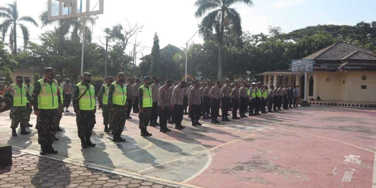 Apel Pengamanan, Polres Celegon Peringati May Day Tahun 2021