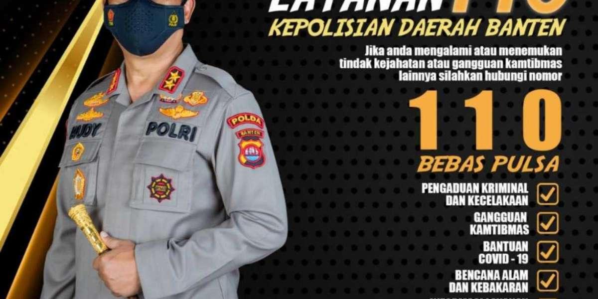 Polda Banten Sosialisasikan Layanan 110 Untuk Vaksinasi ke Rumah
