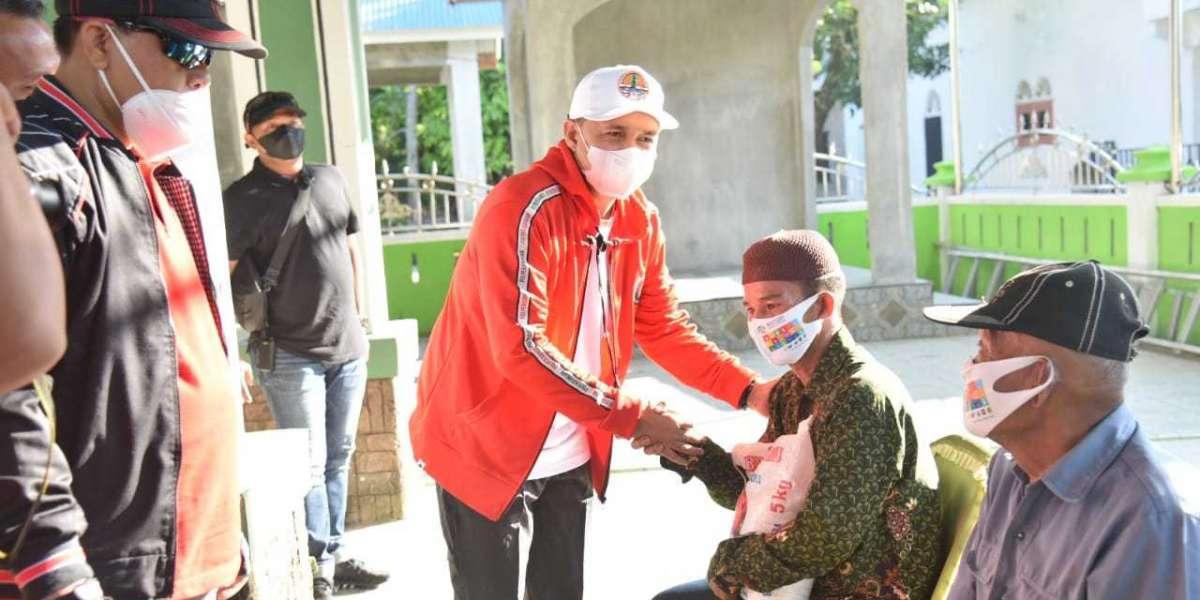 Peringati Bulan Kelahiran Bung Karno, Bupati Batu Bara Bersama Ketua DPRD, Lakukan Gowes dan Berbagi Sembako