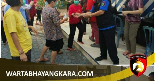 Polres Lampung Utara bersama Dinas Kesehatan Gelar Vaksinasi Massal - LAMPUNG