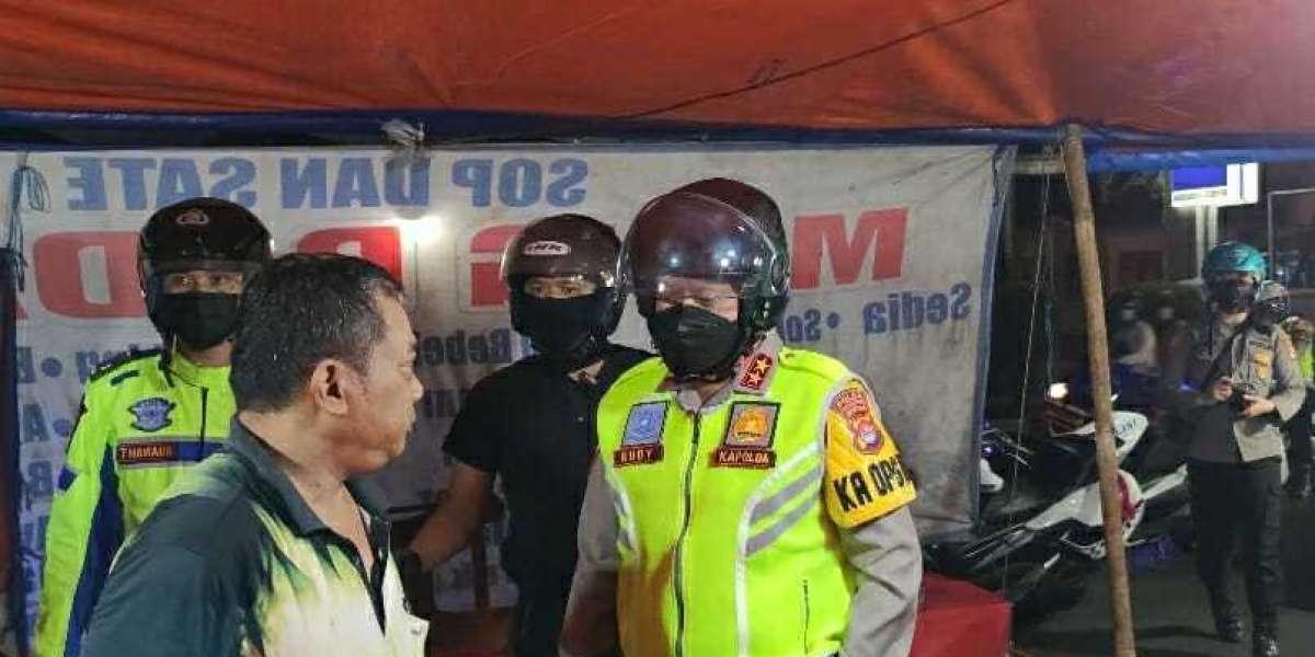 Tinjau Penerapan PPKM Darurat, TNI Polri di Banten Laksanakan Patroli Skala Besar