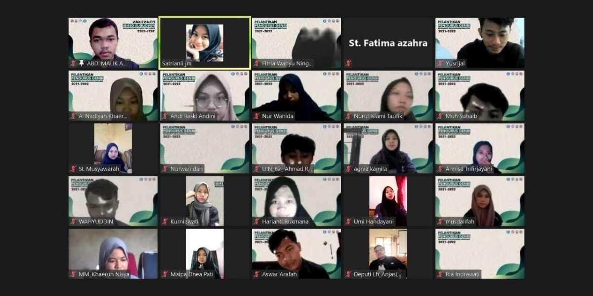 Generasi Baru Indonesia Komsat UINAM Sukses Gelar Pelantikan Secara Virtual