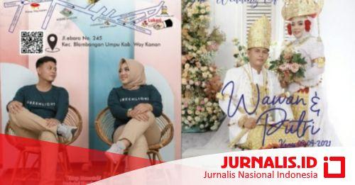 Keluarga Besar Jurnalis Nasional Indonesia Way Kanan Ucapkan Selamat atas Pernikahan Wawan & Putri - JURNALIS.ID